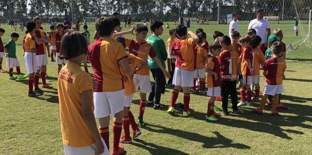 Galatasaray, Antalya'da yetenek avına çıktı.