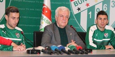 Bursaspor'dan çifte transfer