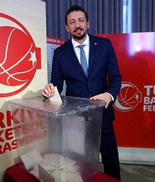 ��te T�rkiye Basketbol Federasyonu'nun yeni ba�kan�