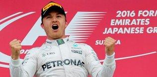 Şampiyonluk Rosberg'den