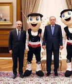 Cumhurbaşkanı Erdoğan, Bakan Kılıç'ı kabul etti