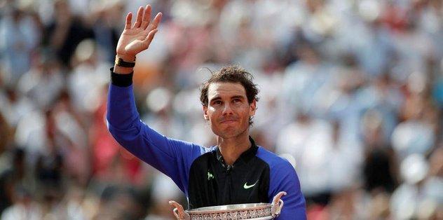 Fransa Açık'ta şampiyon Nadal!