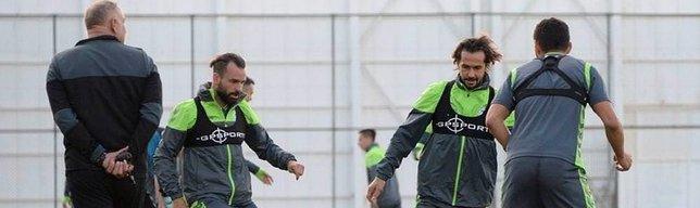 Konyaspor'da Trabzonspor mesaisi s�r�yor