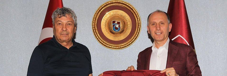 Lucescu Trabzon'a geldi