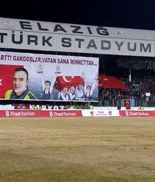 Elazığspor Fethi Sekin'i unutmadı