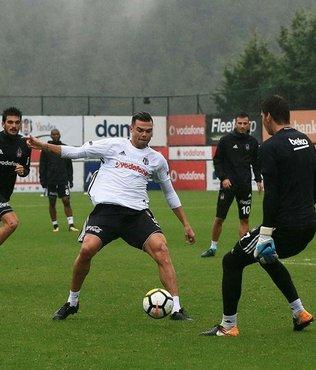 Beşiktaş'ta Bursaspor maçı hazırlıkları