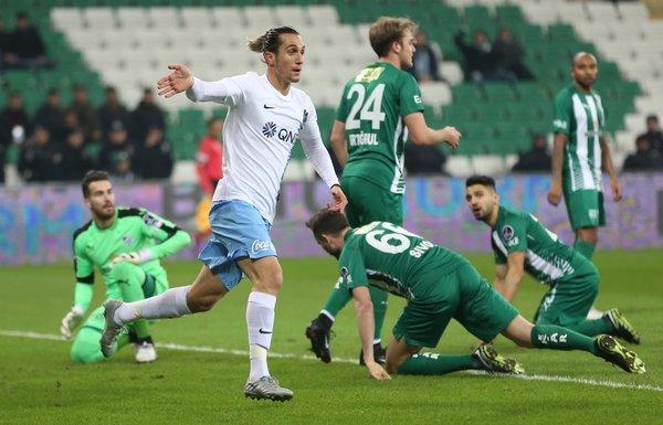 Bursaspor 1-2 Trabzonspor (STSL 17. Hafta)