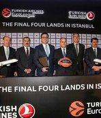 Final Four resmen İstanbul'da
