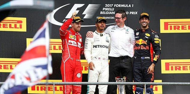 Lewis Hamilton'dan 5. galibiyet