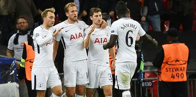 Tottenham Dortmund'u devirdi