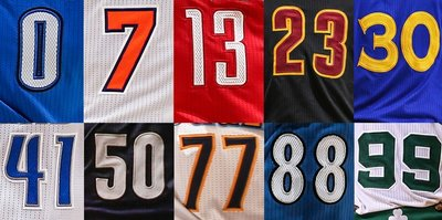 NBA unveil new jersey rule