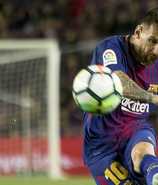 Messi ve Zaza'dan hat-trick