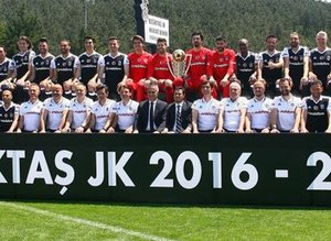 Beşiktaş'ta poster çekimi yapıldı