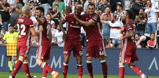 Son �ampiyon, lidere ac�mad�