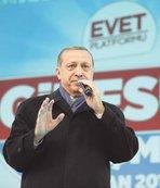 Cumhurbaşkanı Erdoğan, provokasyona dikkat çekti