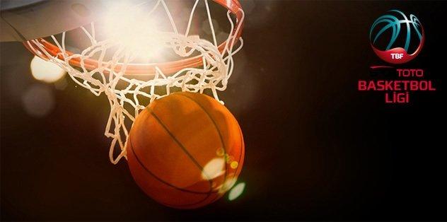 Spor Toto Basketbol Ligi'nde 10. hafta heyecanı