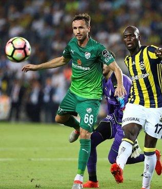Beşiktaş maçı öncesi Bursa'da Sivok şoku