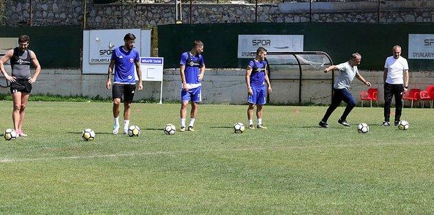 Karabükspor'da Beşiktaş maçı hazırlıkları başladı
