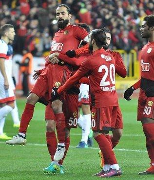 Eskişehir gol oldu yağdı: 6-0