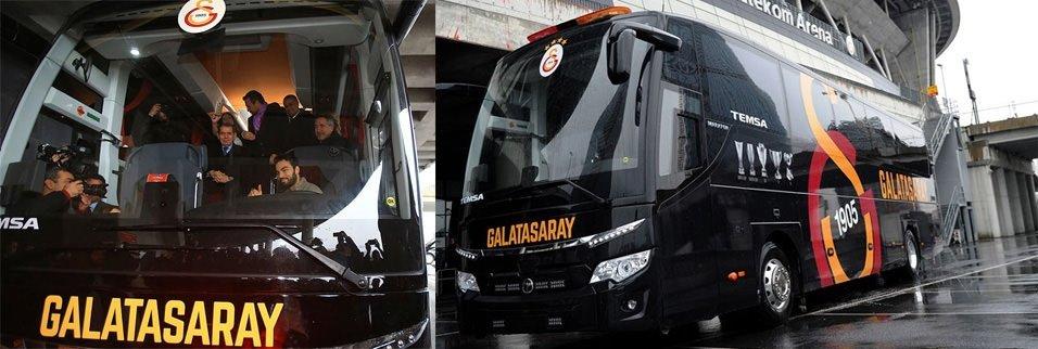 En klas takım otobüsleri