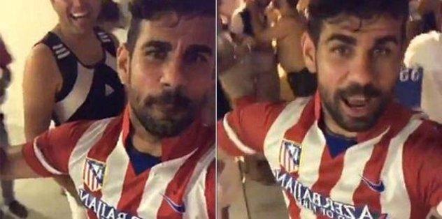 Costa, Atletico forması giydi