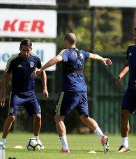Fenerbahçede derbi hazırlıkları