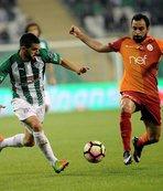 Bursaspor'un şansı Galatasaray'a tutmuyor