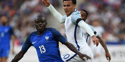 Fransa, hazırlık maçında İngiltere'yi 3 - 2 yendi