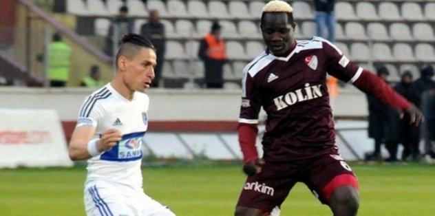 Karabükspor, Hamidou Traore ile 3 yıllık sözleşme imzaladı