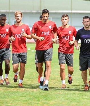 Galatasaray'da Kayserispor haz�rl�klar�