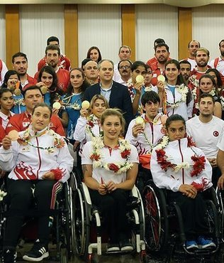 Paralympic heroes deliver gold for Turkey