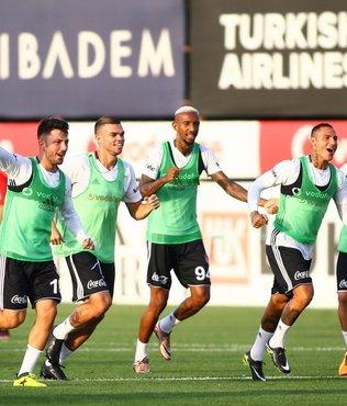 Beşiktaş, derbi hazırlıklarına devam etti