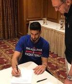 Philadelphia 76ers ile sözleşme imzaladı