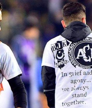 Beşiktaş, Chapecoense'yi unutmadı