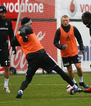 Beşiktaş'ta Hapoel hazırlıkları sürüyor