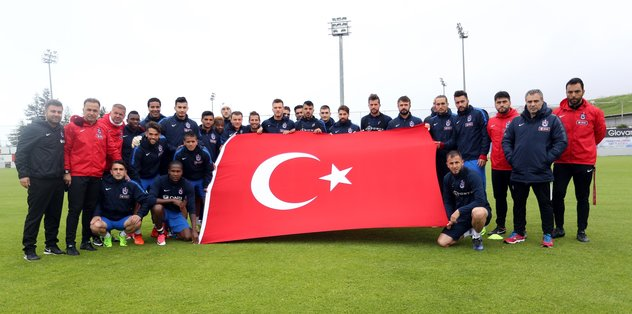 Trabzonspor gol çalıştı