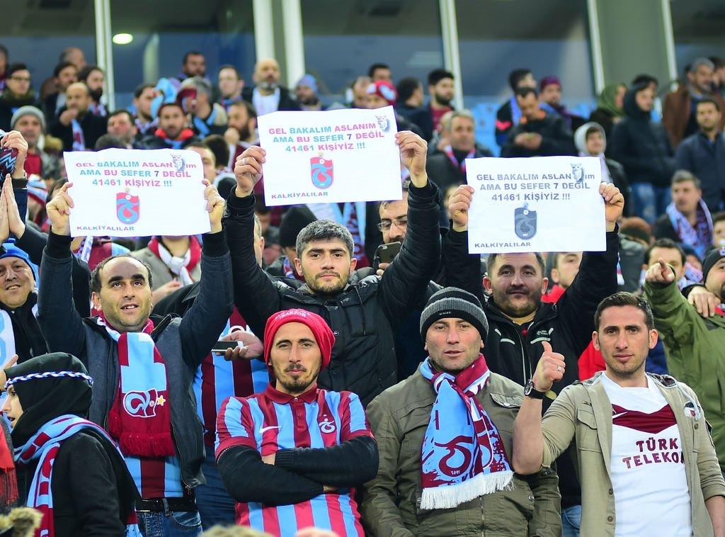 Trabzonspor'dan muhteşem koreografi