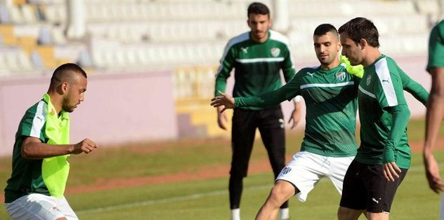Bursaspor'da hedef mutlak galibiyet