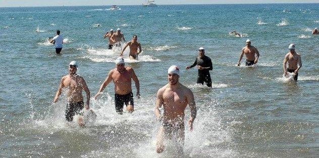 Amasra'da Uluslararası Açık Su Yüzme Maratonu