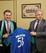 Bakan Bak'tan Ç.Rizespor'a ziyaret