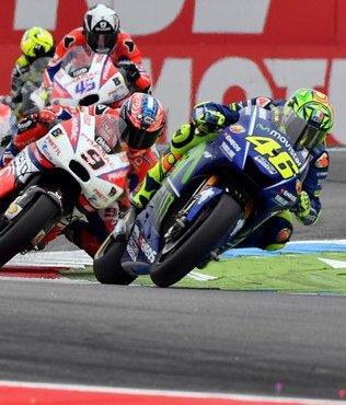 Hollanda'da zafer Rossi'nin