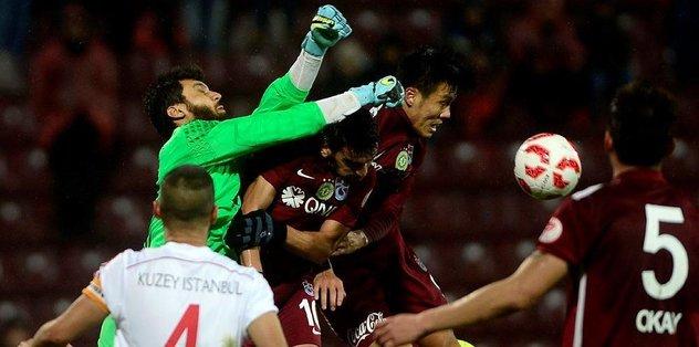 Trabzonspor, 2. Lig takımına yenildi