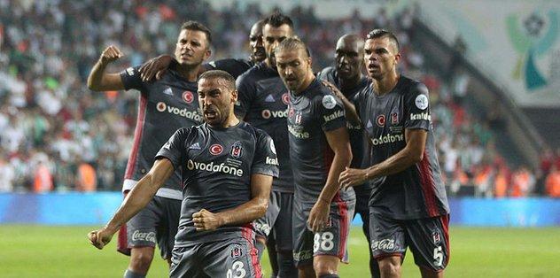 Beşiktaş, Bursaspor'u konuk edecek