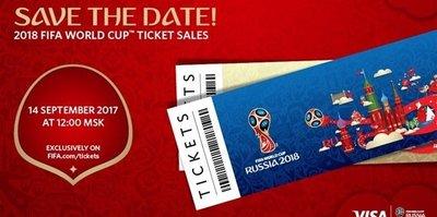 2018 Dünya Kupası biletleri satışa çıkıyor