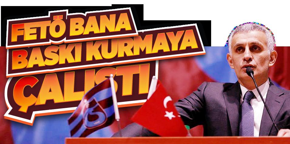 İbrahim Hacıosmanoğlu genel kurulda konuştu: