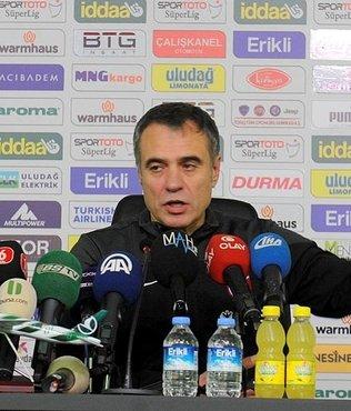 Ersun Yanal'dan maç sonrası açıklama