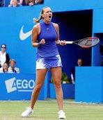 Kvitova, bıçaklı saldırı sonrası ilk şampiyonluğunu kazandı