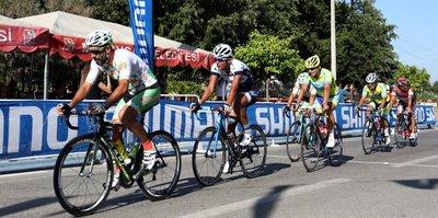 Manavgat'ta Bisiklet Yarışı