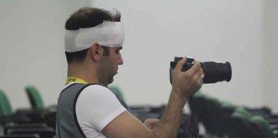 4 gazeteci yaralandı!