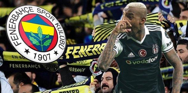 Talisca ve Fenerbahçe taraftarı...